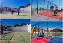 Terminan las obras en el polideportivo de Tamaide  y El Frontón